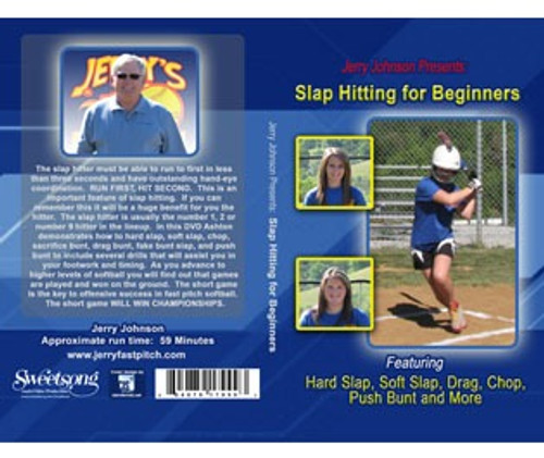 Jerry Johnson Presents: Slap Hitting for Beginners DVD