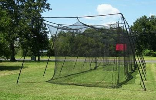 Pro Series 70'Lx12'Hx12'L Batting cage #45 net and frame