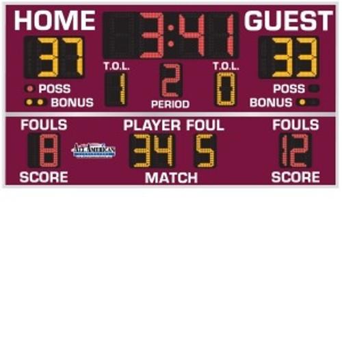 Indoor Basketball, Volleyball & Wrestling Scoreboard
