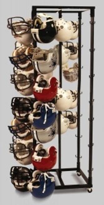 40 Helmet Storage Rack (Helmets not included)