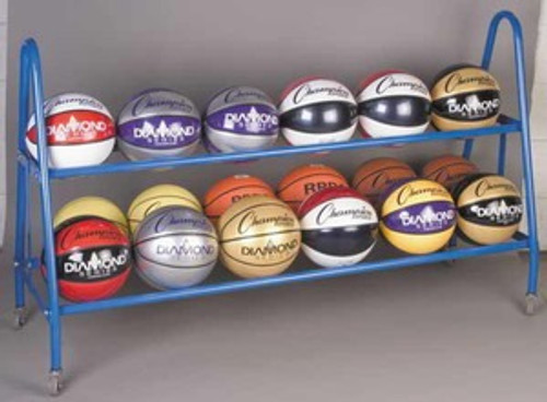 Champion Sports 18 Ball Deluxe Heavy Ball Rack