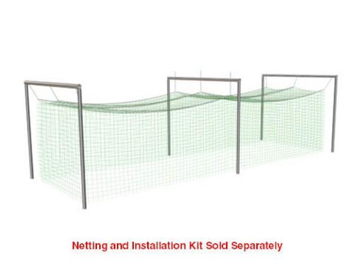 Jugs Batting Cage Frame for Batting Cage Net #1: 381-lb  -  FR105