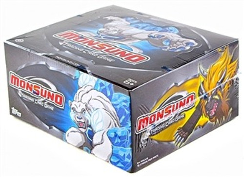 Topps 2012 Monsuno Trading Card Game Booster Box