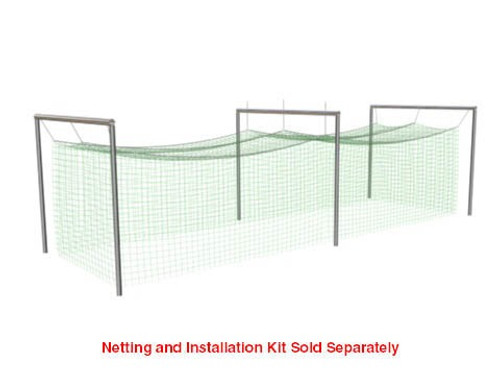 Jugs Batting Cage Frame for Batting Cage Net #5: 191-lb  and 381-lb