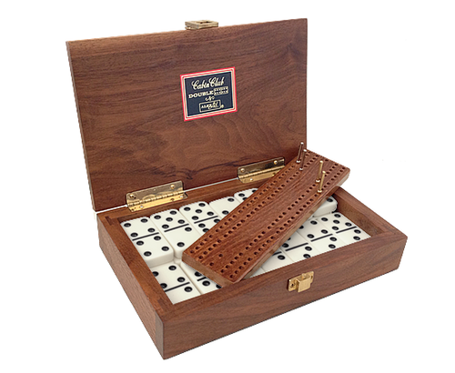 "Alex Cramer ""Cabin Club"" Classic Domino Set"