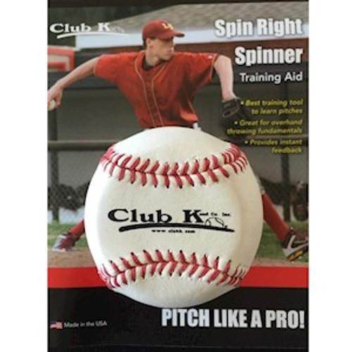 Club K Spin Right Spinner Baseball - White