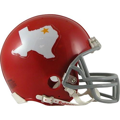 Riddell Kansas City Chiefs/Dallas Texans AFL 50th Anniversary Replica Mini Helmet
