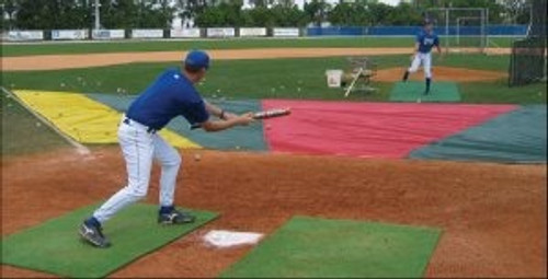 Bunt Zone Major League Infield Protector & Trainer - Large