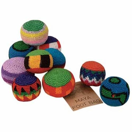 Markwort Maya Foot Bag (Assorted Designs)