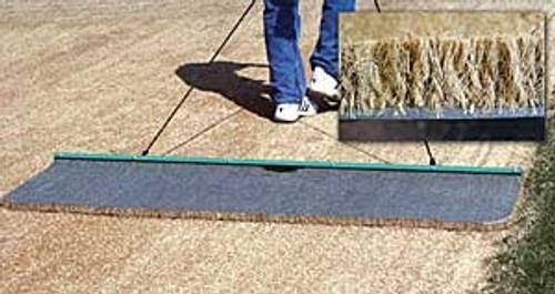 Cocoa Mat Drag - Large: 6'W x 2'L with Rope & Handle