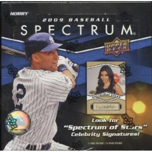2009 Upper Deck Spectrum Baseball Hobby Box
