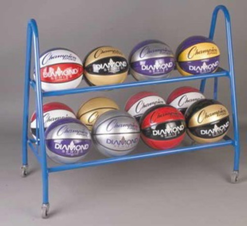 Champion Sports 12 Ball Deluxe Heavy Ball Rack