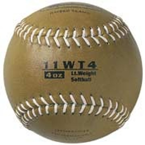 "Markwort Color Coded Weighted 11"" Softballs"