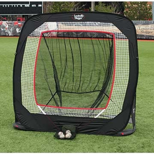 Louisville Slugger Silver Line Pop Up Net