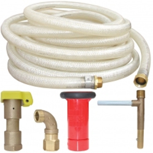 100' Big League Stadium Hose With Groundskeeper Kit