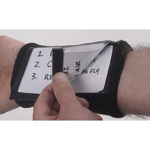 Markwort 3 Window Play Card Holder Wristband - White