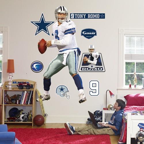 Tony Romo Lookin' Deep Fathead