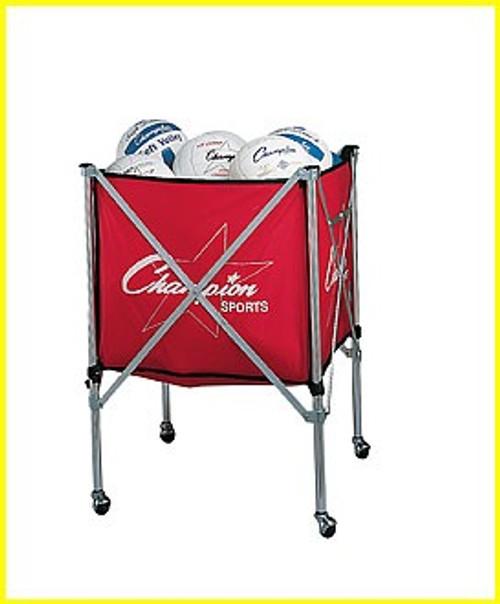 Champion Sports Folding Ball Cart
