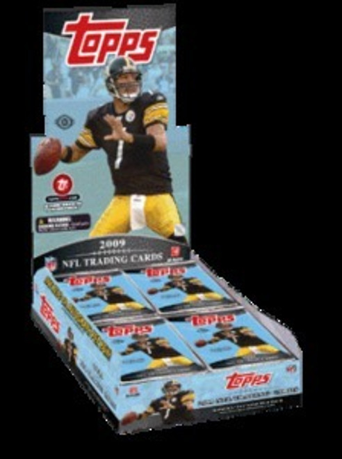 2009 Topps Football Hobby Box