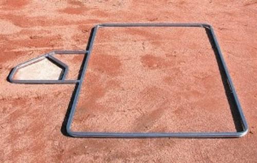 Standard 3' x 6' Baseball Batter's Box Template