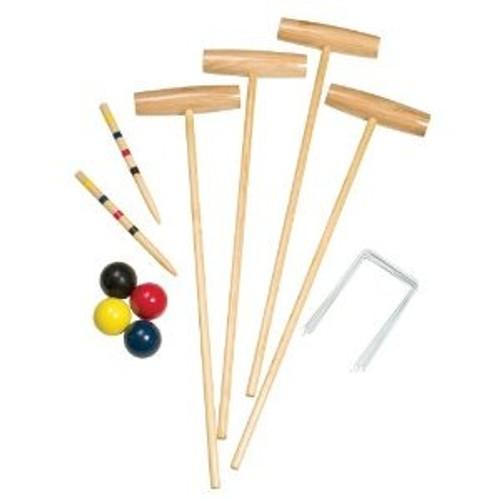 Champion Sports Classic 4-Plaer Croquet Set