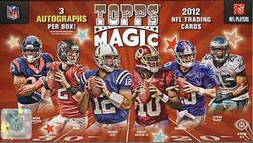 2012 Topps Magic Hobby Football Box