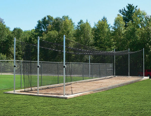 TUFFframe Tensioned Outdoor Baseball Batting Cage System