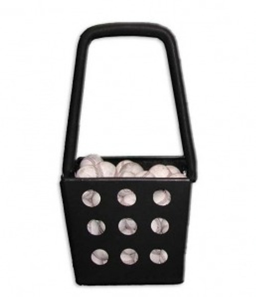 Baseball Pick-Up Hopper  (Black)