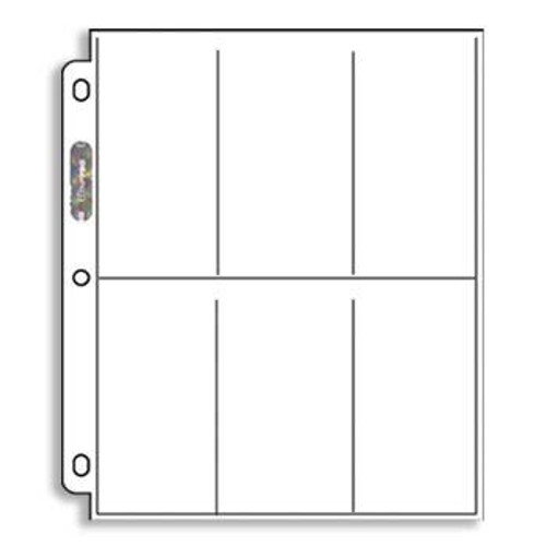 Ultra Pro 6 Pocket Pages (1 Box)
