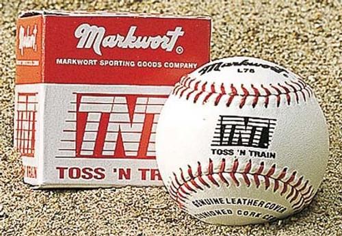 Markwort Toss 'N Train TNT Small Training Baseballs 3oz