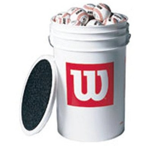 Wilson Bucket and 2 Dozen WTA1010S Baseballs