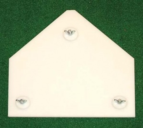 Osborne Inside - Outside Tee Replacement Home Plate Base