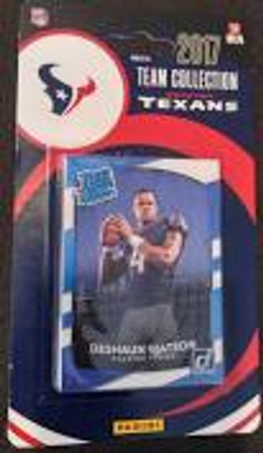 2017 Panini Texans Team Set