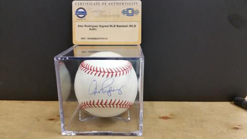 Alex Rodriguez Signed MLB Baseball w/COA