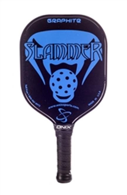 Blue Graphite Slammer Pickleball Paddle
