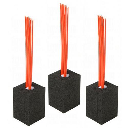 Major League Base Foam Plug w/Bristles