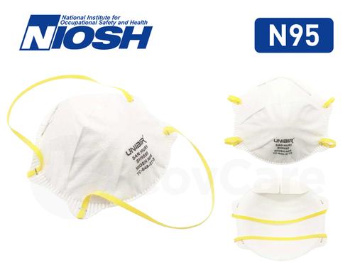 NIOSH Certified, N95 Facemasks