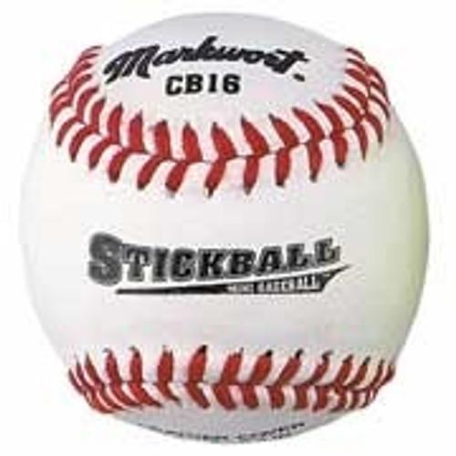 Soft Safe Stickball Style Mini-Baseballs (White)