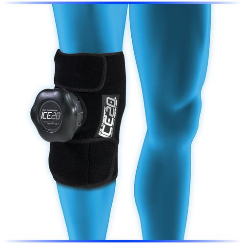 Ice20 Single Knee Compression Wrap