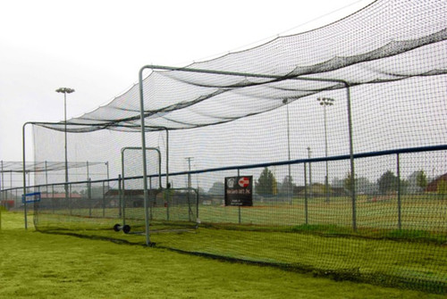 ProCage™ Batting Tunnel Net #42 70'L x 14'W x 12'H