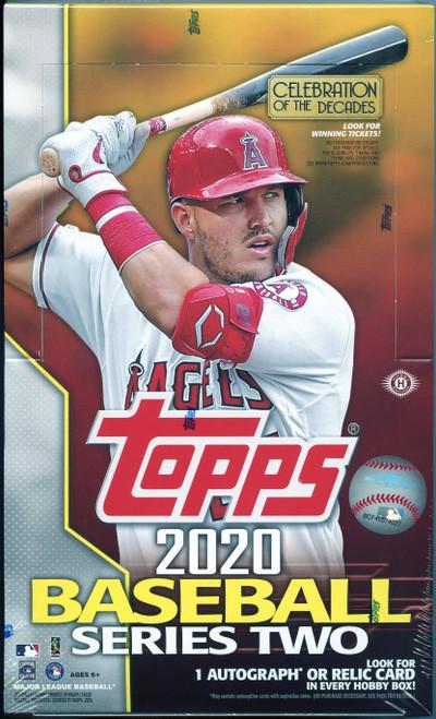 2020 Topps Baseball Series Two Hobby Box