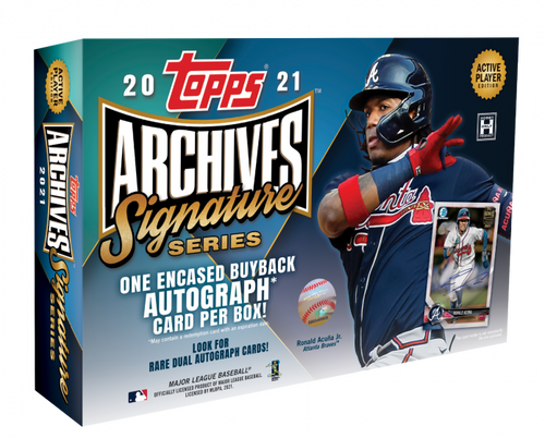 2021 Topps® Archives Signature Series – Active Player Edition