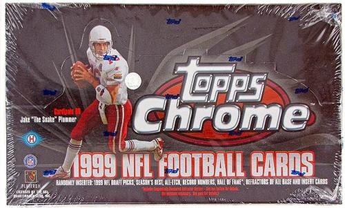 1999 Topps Chrome Football Box