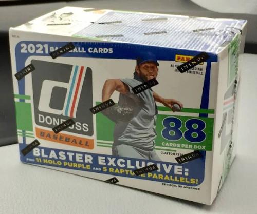 2021 Donruss Baseball Blaster Box