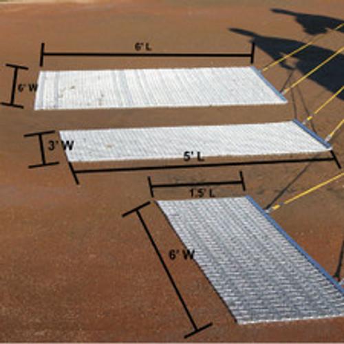 All-Steel Drag Mat 6'W x 1.5'L