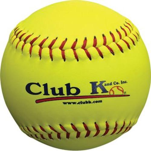 "Club K 14"" Yellow Softball"