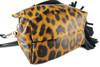 Mini Bucket  Bag - Leopard Leather