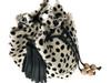 NEW! Boxie Calf Hair Bucket  Bag - Dalmatian