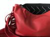 Medium Fringe Crossbody Leather Bag - MORE COLORS