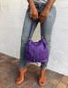 KeKe Leather Bucket Bag